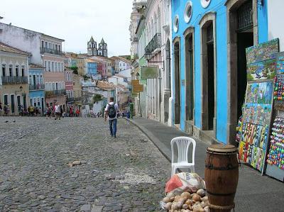 Largo do Pelourinho,  Salvador de Bahía, Brasil, La vuelta al mundo de Asun y Ricardo, round the world, mundoporlibre.com