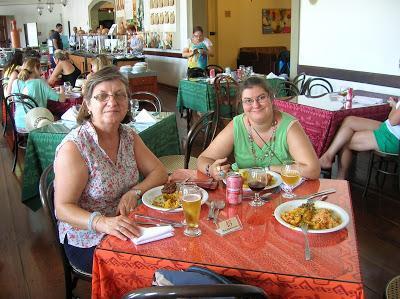 Restaurante Senac, Pelourinho,  Salvador de Bahía, Brasil, La vuelta al mundo de Asun y Ricardo, round the world, mundoporlibre.com