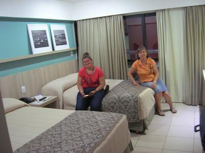 Habitación Hotel Monte Pascoal Praia Salvador, Brasil, La vuelta al mundo de Asun y Ricardo, round the world, mundoporlibre.com