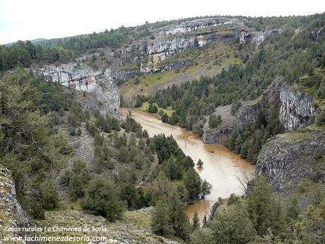 cañon del rio lobos desde el castillo billido 3