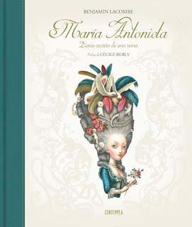 'María Antonieta. Diario secreto de una reina' de Benjamin Lacombe