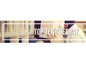 Tuesday diez palabras/temas hacen coger libro