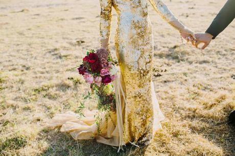 bride sparkly