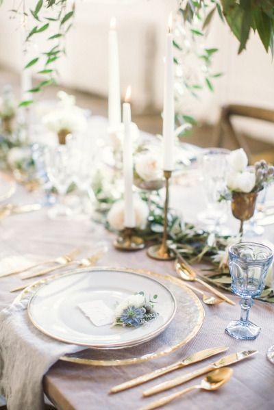 mesa boda glitter