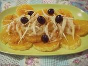 Ensalada naranja bacalao