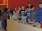 Pomares visita alumnos Ramón Arcas Meca (Lorca)