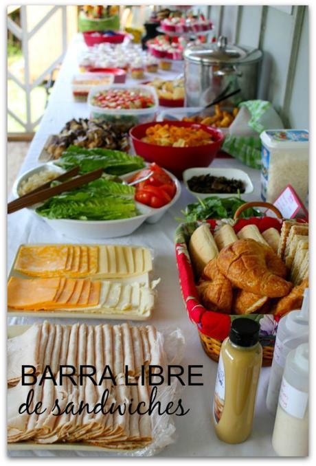 Barra libre de sándwiches para los Goya y los Oscars