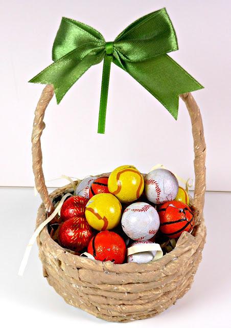Canasta Para Huevos Manualidades.Canasto Hecho Con Material Reciclado Paperblog
