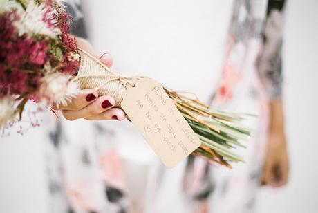 ramo flores novia hip love