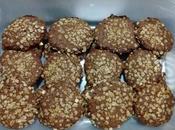 Galletas avena chocolate