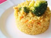 Quinoa verduras curry