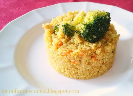 Quinoa con verduras y curry paperblog for Cocina quinoa con verduras