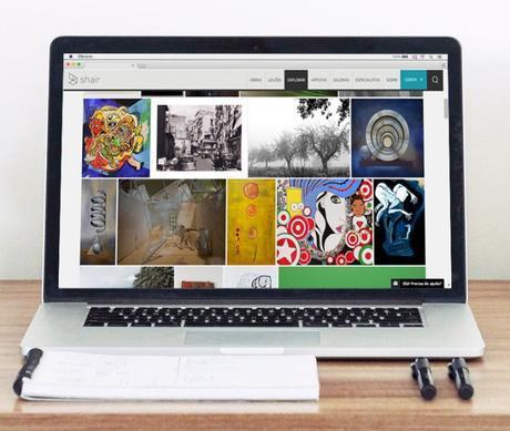 Galerias de arte online - shairart.es