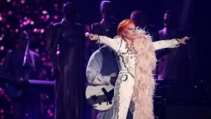 lady gaga david bowie grammys
