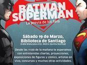 Sábado Marzo, #Batman #Superman #BibliotecaDeSantiago @BibliotecadStgo