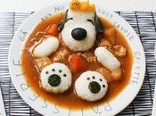 Comida para niños convertida arte