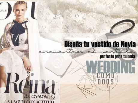 Diseña tu vestido de novia