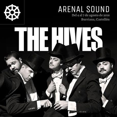 The Hives al Arenal Sound 2016