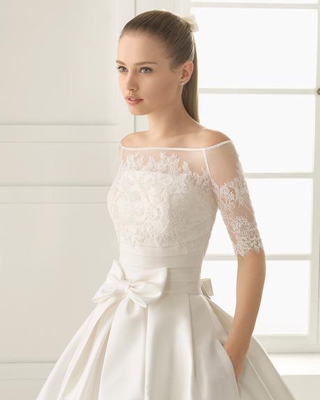 Vestidos de novia para novias con mucho busto