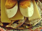 Sándwich vegetales asados