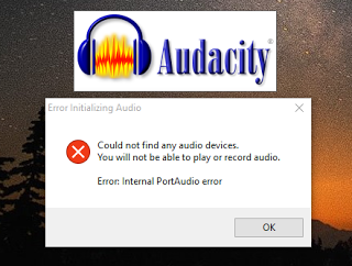 Audacity no funciona con Windows 10 - Una solución