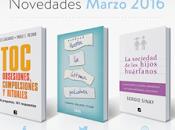 ¡Novedades Ediciones Argentina para Marzo!