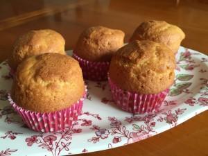 Quequitos o cupcake básicos, receta chilena