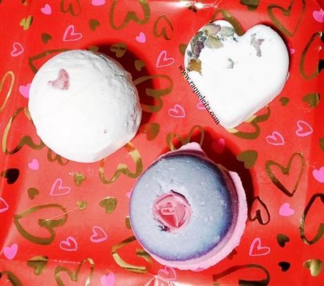 Bombas de Baño y Exfoliante de Labios Especial San Valentín de Lush
