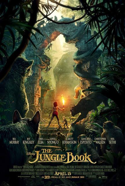 ATENCION: NUEVO SPOT EN V.O. DE EL LIBRO DE LA SELVA (THE JUNGLE BOOK)