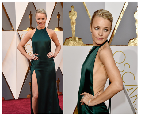 Raquel Mc Adams Oscar 2016