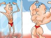 reflejo vigorexia está espejo