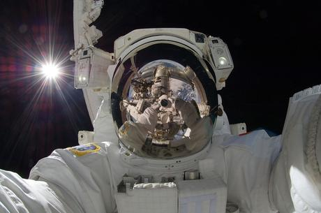 Astronauta, Paseo, Iss, Herramientas, Traje, Pack