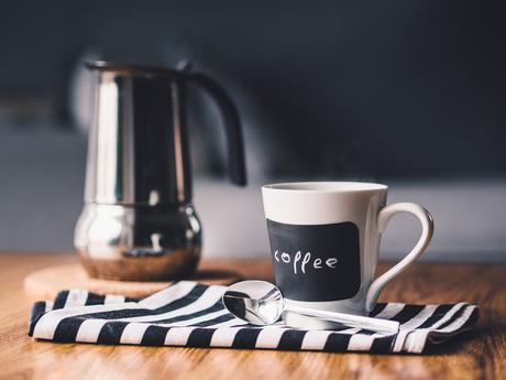Por La Mañana, Café, Copa, Beber, Mesa, Cocina