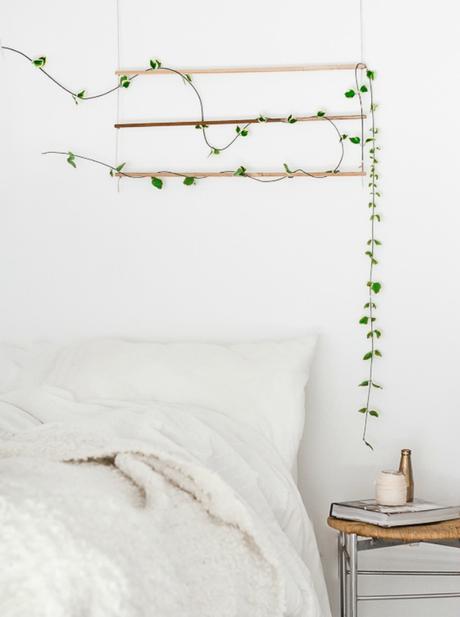 6 ideas handmade para decorar la pared con plantas paperblog - Ideas para decorar paredes con plantas ...