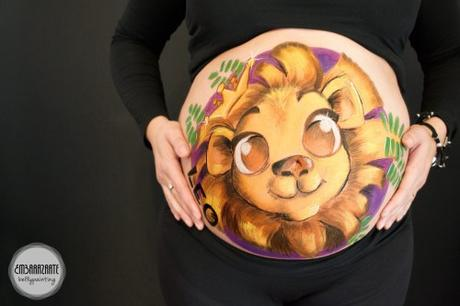 Bellypainting Leon
