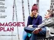 Póster trailer v.o. maggie´s plan, comedia romantica ethan hawke greta gerwig