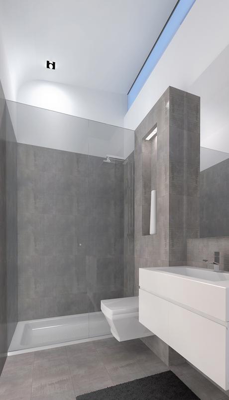 Cuarto De Baño En Gris ~ Dikidu.com