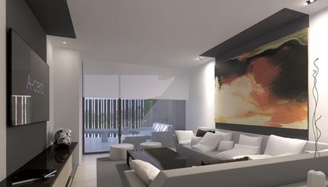 Im genes final de obra de las viviendas adosadas dise adas for Donde ubicar las escaleras en una vivienda