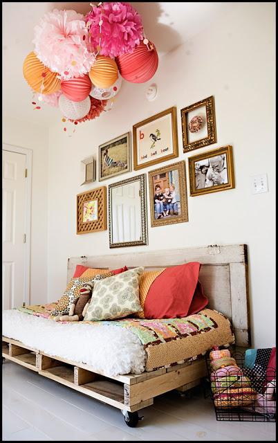Como hacer un sof cama con palets paperblog - Como hacer un sofa con palets ...
