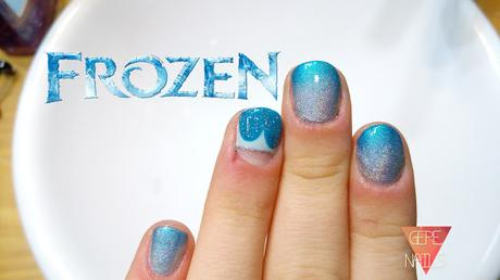 Manicura Frozen Sencilla Feliz Cumpleanos Eli Paperblog