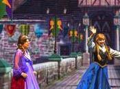 Estrenan show Frozen Disneyland!!