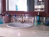 Muebles baño: Espejo esquineros latón mueble