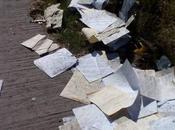 Cientos datos personales recabados Mabe quedan tirados carretera