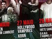 Rock Lisboa 2016: Bruce Springsteen, Queen Adam Lambert, Maroon Hollywood Vampires, Korn, Mika...