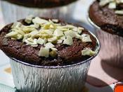Magdalenas chocolates, superfaciles
