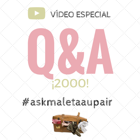 ¡Vídeo especial 'Q&A' YouTube!