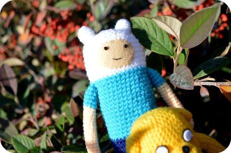 Patrón Crochet Finn el Humano y Jake el Perro – Amigurumi Duende ... | 305x460