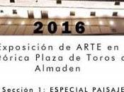Exposición arte Plaza Toros Almadén
