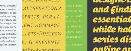 Familia tipográfica Operator