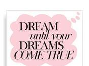 Sueña hasta sueños hagan realidad